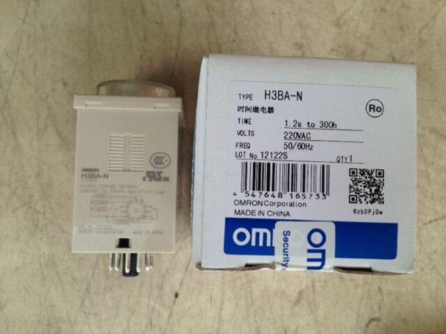 Omron H3BA-N 220VAC New IN BOX