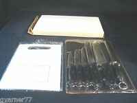 Koch Messer Chef Knives Set Of 6 + Cutting Board Sealed Cutlery Kitchen Set