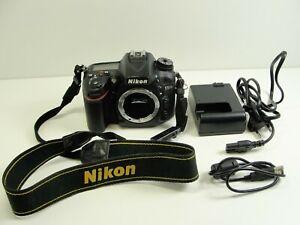 Nikon-D7200-24-2-MP-SLR-Digitalkamera-Schwarz-Nur-Gehause-Body