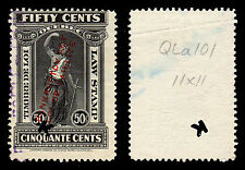 Canada 1923 Quebec Bankruptcy Law Stamp 50 Cents Used BABNC QL93 #202A