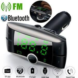 Sans-fil-Bluetooth-Transmetteur-FM-Modulator-Voiture-Kit-MP3-Lecteur-Double-USB
