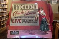 Ry Cooder Corridos Famosos Live 2xlp Sealed Vinyl Cd Great American Music Hall