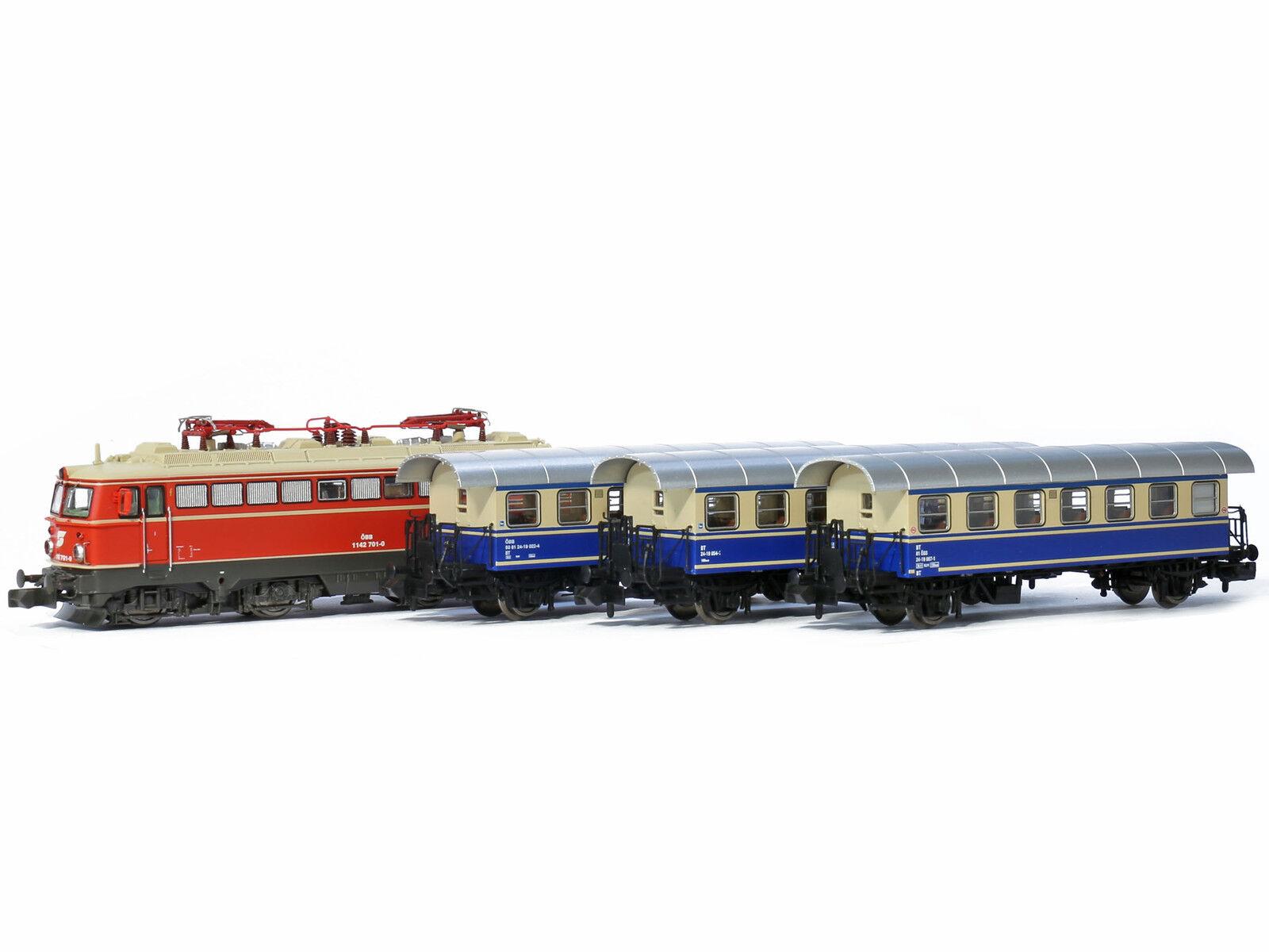 Jaegerndorfer jc60405 - 4-piezas zugset ÖBB época IV V-pista N-nuevo