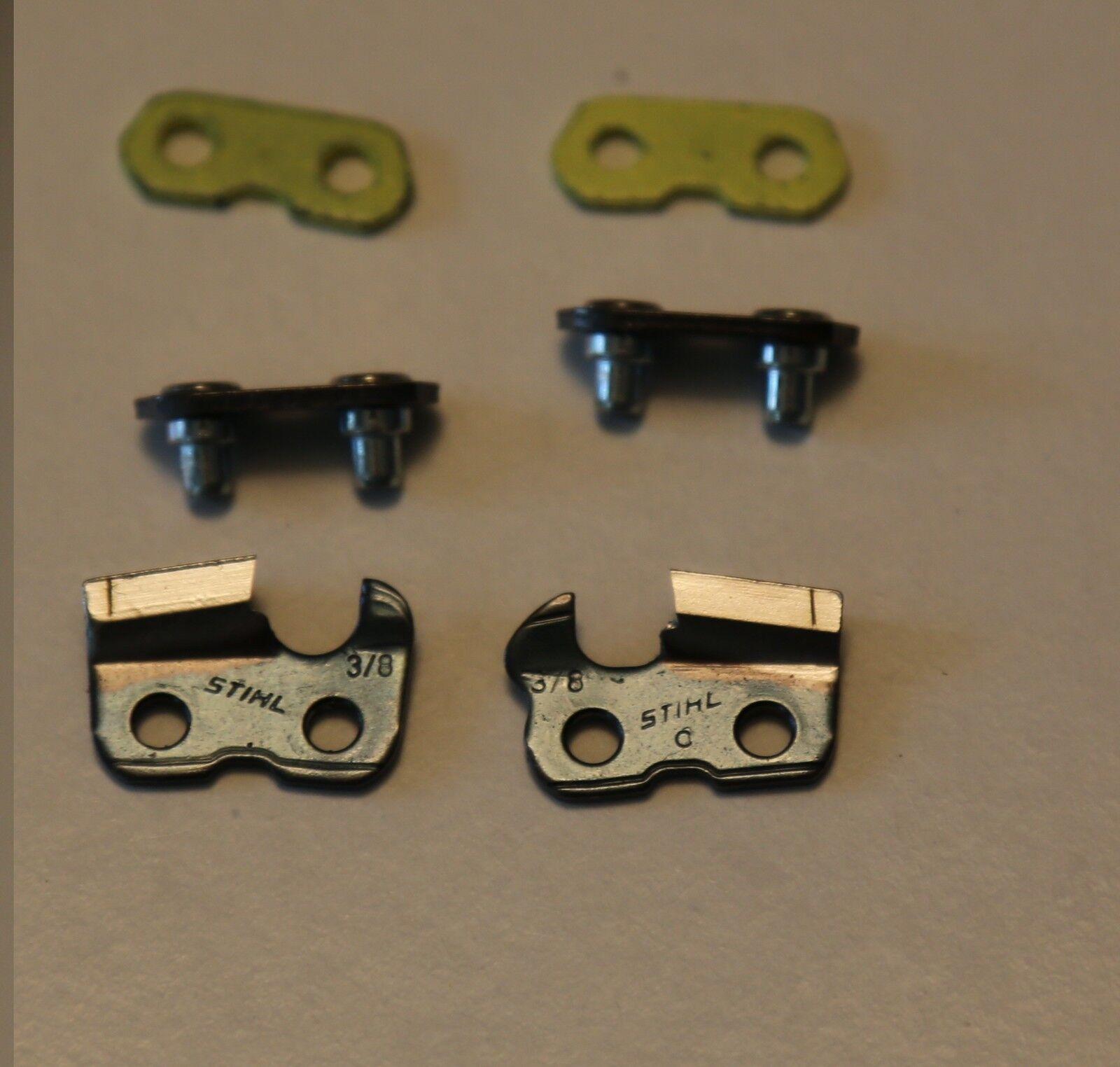STIHL 3//8 chain 36 inch bar 124 drivers .050 gauge full chisel full skip RSLFK