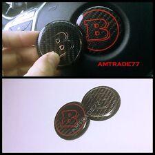 Carbon Fibre emblem BRABUS Steering Wheel Insert  Mercedes Benz Star Replacement