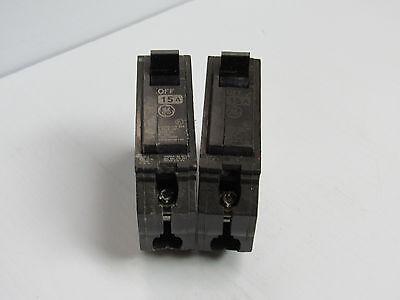 GENERAL ELECTRIC CIRCUIT BREAKER 15AMP