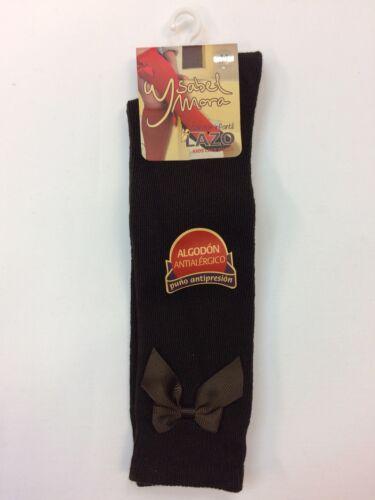Romany espagnol Filles Hautes Bow Chaussettes par Ysabel Mora âge nouveau-né à 6 ans