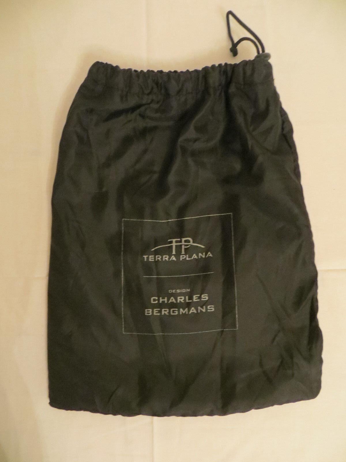 Terra Plana Hausschuhe Größe schwarz, 43, Des. Charles Bergmans, Leder schwarz, Größe Neuwertig ab8a83