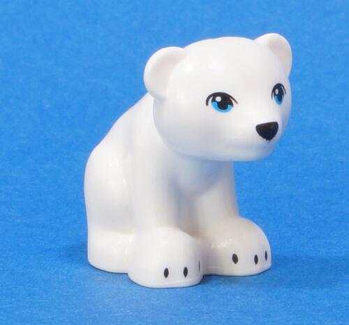 Lego Friends Elves-oso sentado blanco//White Bear sitting//14732pb03 mercancía nueva