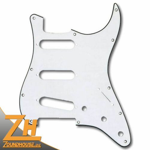 Fender American Series Stratocaster Pickguard SSS Parchment
