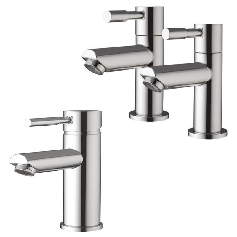 Salle de bains moderne Pilier Colonne salle de bain robinets et bassin mitigeur (LOL 31)