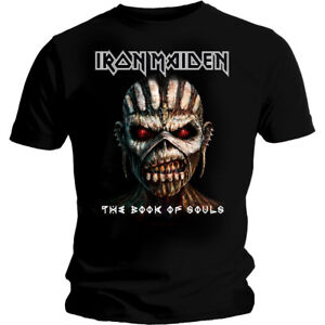 Iron-Maiden-039-The-Book-of-Souls-039-T-SHIRT-Nuevo-y-Oficial