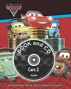 Cars-2-Storybook-amp-CD-Disney-Storybook-amp-CD-Disney-Very-Good-Book