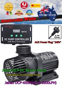 Jebao Dcp-6500 Dc Marine Circulation Water Pump & Controller Quite Sine Wave Pet Supplies Pumps (water)