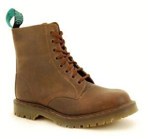 Détails sur Solovair Nps Chaussures Fabriqué en Angleterre 8 Œil Gaucho Bottes Ben