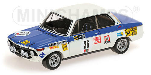BMW 2002ti H.-J. Stuck #36 Winner 24H Nürburgring 1970 1:43 Minichamps