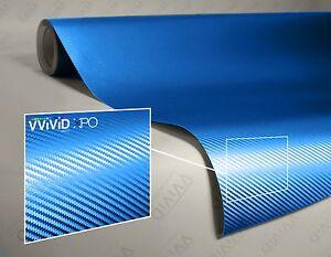 Vvivid-Xpo-Blue-Metallic-3D-carbon-fiber-vinyl-car-wrap-decal