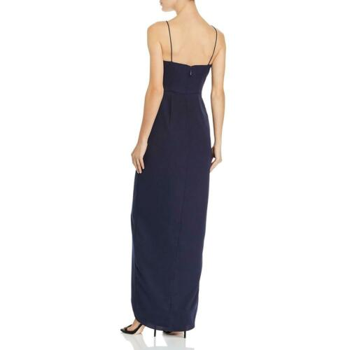 Bariano Womens Eden Draped Wrap Formal Evening Dress Gown BHFO 3715