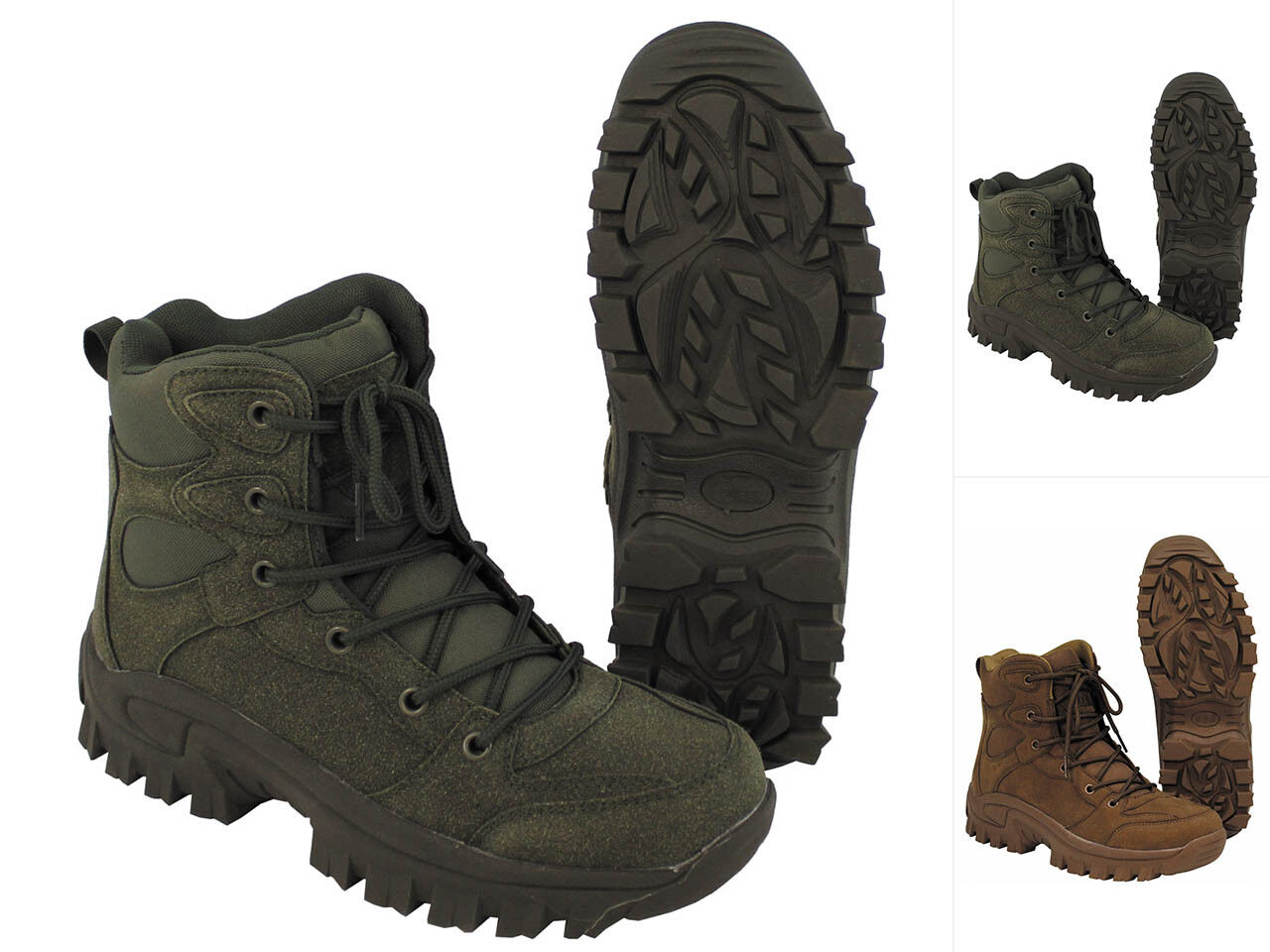 MFH 40-46 Stiefel Commando 40-46 MFH Wanderschuhe Trekkingschuhe Schuhe Bergschuhe eb20a4