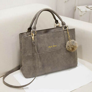 Fashion-Design-women-leather-handbags-messenger-bag-Purse-Tote-Shoulder-Bags