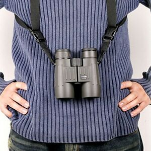 RANGEFINDER Harness Camera Leather Binocular Strap with Quick Release System