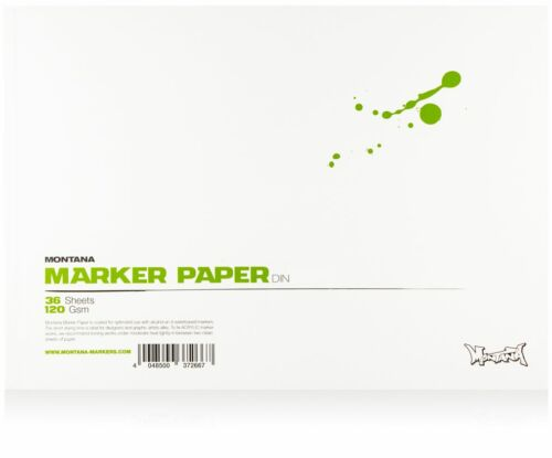 GRAPHIC ARTIST PAPER A3 SIZE MONTANA MARKER PAD 36 SHEETS