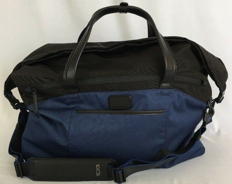 Tumi Tahoe Regency Roll Top Weekender Duffle Carry-on Bag ... 3709e7743d228