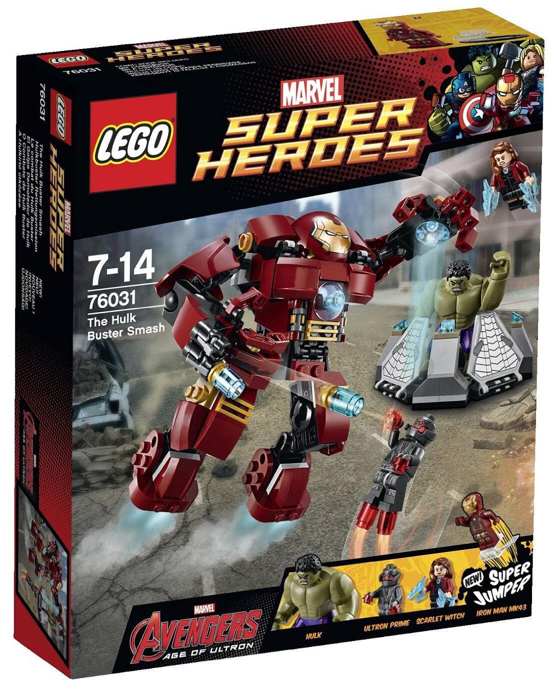 Nisb lego 76031 hulk smash iron scarlet hexe neue buster versiegelt authentisch