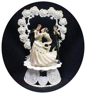 elvis wedding cake topper elvis lasvegas wedding cake topper 14010