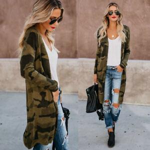 Fashion-Women-Ladies-Cardigan-Printed-Slim-Fit-Long-Sleeve-Top