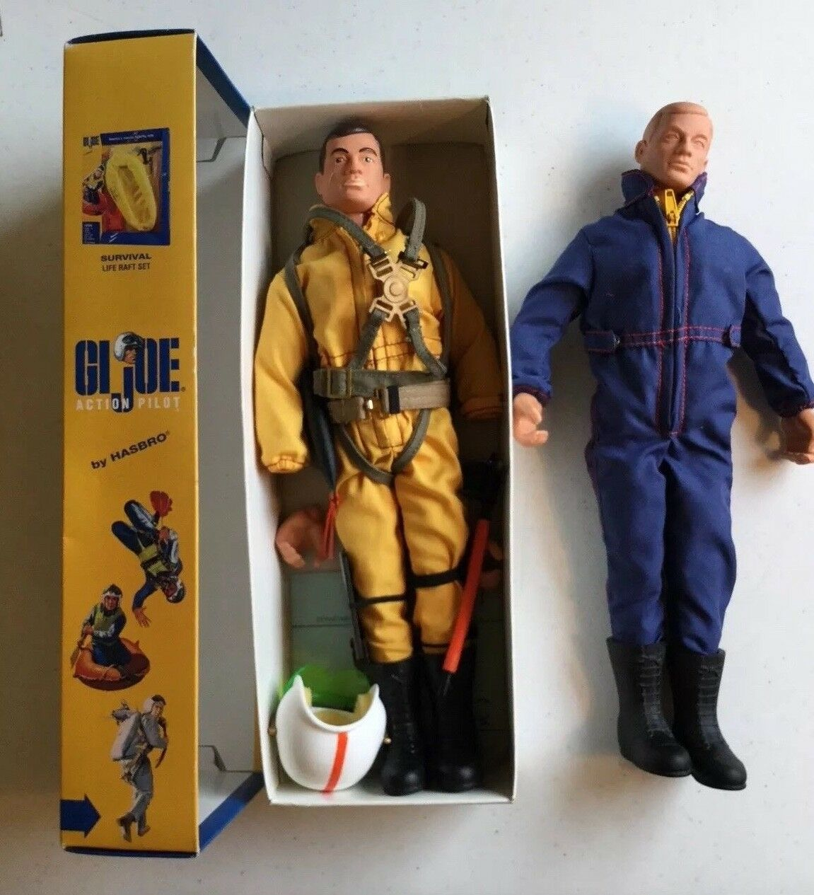 First Shot & EP Prossootype Pair GI Joe 1994 Commemorative Action Pilot