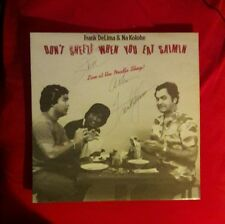 """""""Frank DeLima"""" Hawaiian Stand-up Comedian!...signed album!...To Steve!"""