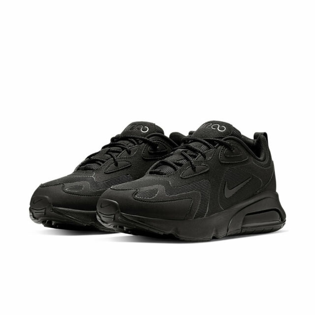 Nike Air Max 200 Trainers Black/black
