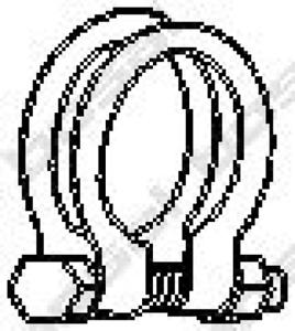 Klemmstück Abgasanlage für Abgasanlage BOSAL 250-465