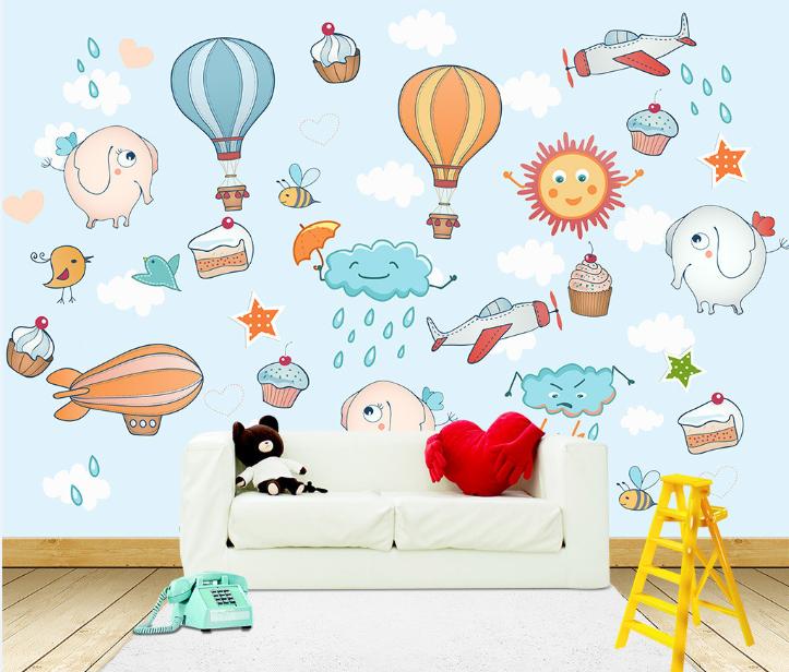 3D Ballon-Elefant-Wolke Ballon-Elefant-Wolke Ballon-Elefant-Wolke 84 Tapete Wandgemälde Tapete Tapeten Bild Familie DE | Realistisch  | Modern Und Elegant  | Neueste Technologie  d740ba