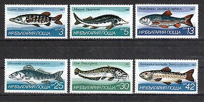 europa:4981 Bulgarien Bescheiden Bulgarien Michelnummer 3158-3163 Postfrisch