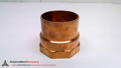New* #216576 Smart Hailiang America Corporation Hl15-105-0520 Copper Female Adapter
