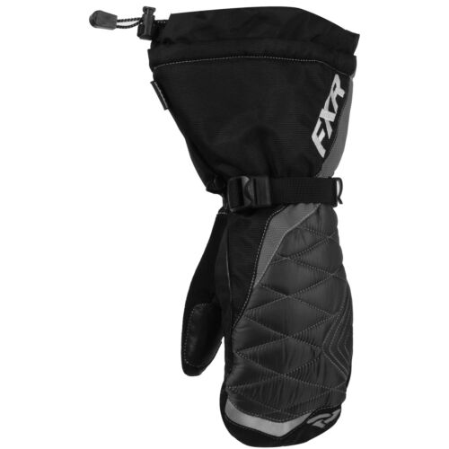 FXR Fusion Womens Snow Mittens Black//Charcoal