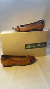 brown Shoes Size Oringe 4 Womens Clarks ZUwp4