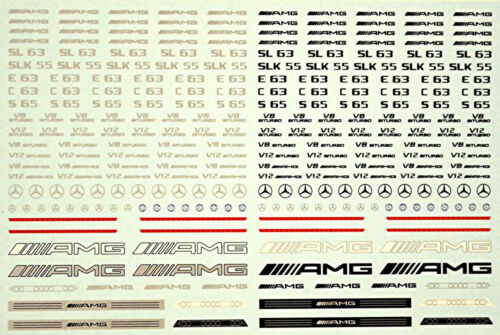 German Tuning Cars Street Racing No.02 Sponsoren Bogen 1:32 Decal Abziehbilder