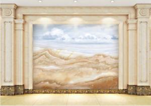 3D Hills Paint 4014 Wallpaper Murals Wall Print Wallpaper Mural AJ WALL UK Lemon