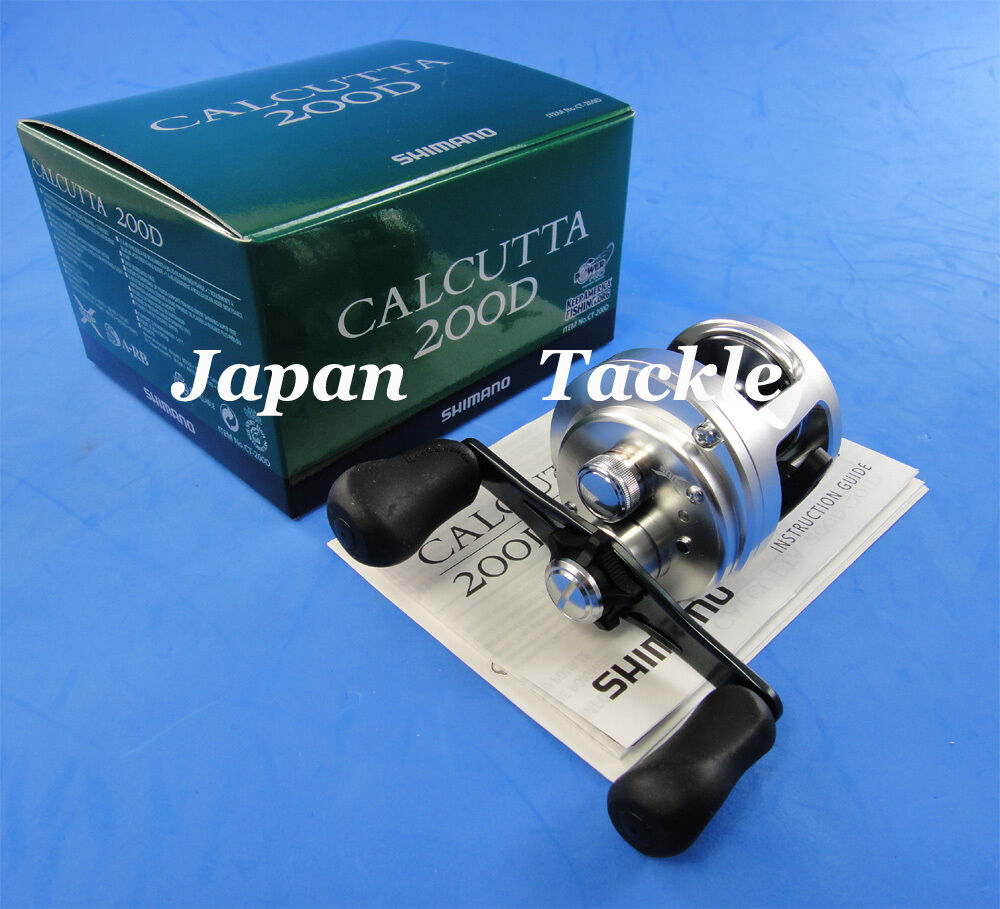 NEW SHIMANO CALCUTTA 200D 200 D RIGHT HAND REEL FAST 1-3 DAYS DELIVERY