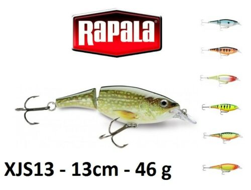 Rapala X-Rap® Jointed Shad Fishing Lure 13cm 46g Various Colours