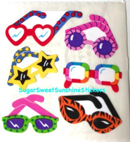 Sandylion Vintage Stickers *GLASSES SUNGLASSES* SQUARE MODULE RARE!