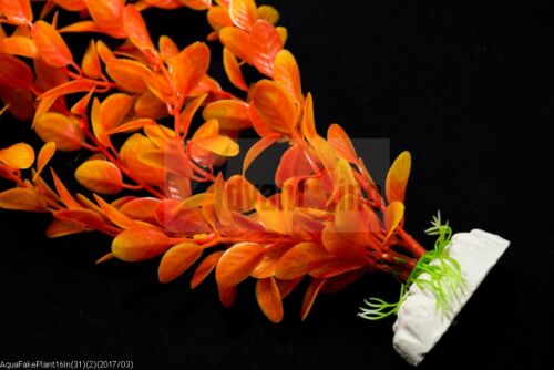 """SHIP FROM USA 16/"""" Long Realistic Artificial Plants for Aquarium// Fish Tank S31"""