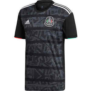 newest b772a 331c7 Details about Mexico National Team Jersey Adidas 2019 Color Black
