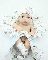 Realistic Reborn Baby Dolls 10'' Soft Vinyl Real Life Lifelike Baby Doll Boy new