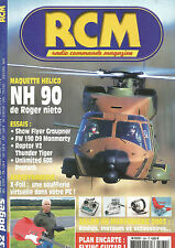 RCM N°264 PLAN : FLYING GUITAR -NH 90 / SHOW FLYER GRAUPNER / FW 190 D9 / RAPTOR