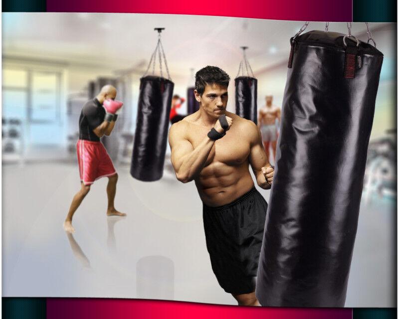 Sacco da boxe professionale 100 35 35 35 STAFFA riempito M. giunto girevole 1fcca0