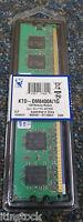 Kingston 1GB Memory KTD-DM8400A/1G DIMM 240-pin - DDR II - 533 MHz / PC2-4200